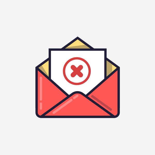Um em cada seis e-mails no mundo não chega à caixa de entrada