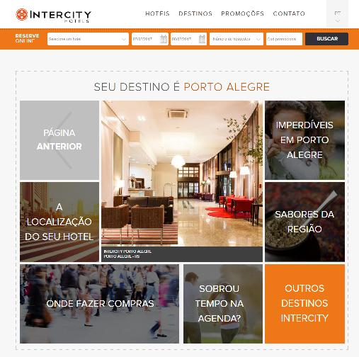 Hotel em Porto Alegre Intercity Hotels