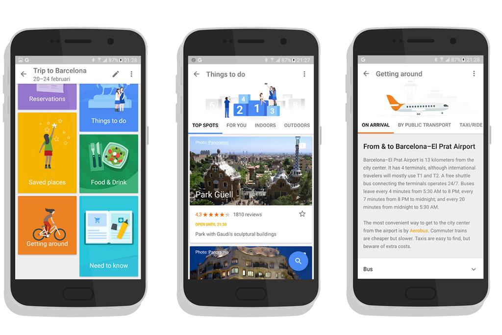 Aplicativo Google Trips e os impactos no mercado de turismo